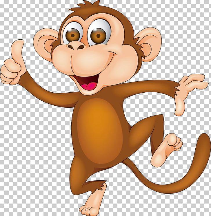 Monkey Cartoon PNG, Clipart, Animals, Animation, Art, Carnivoran, Cartoon Free PNG Download