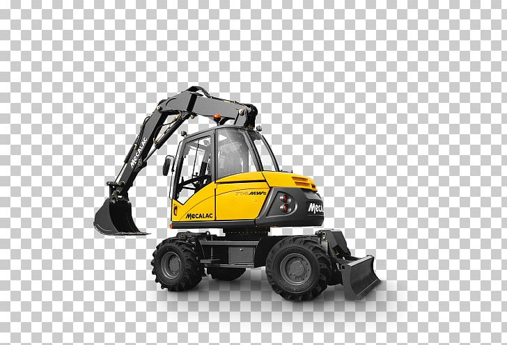 Groupe MECALAC S A  Excavator Specification Machine