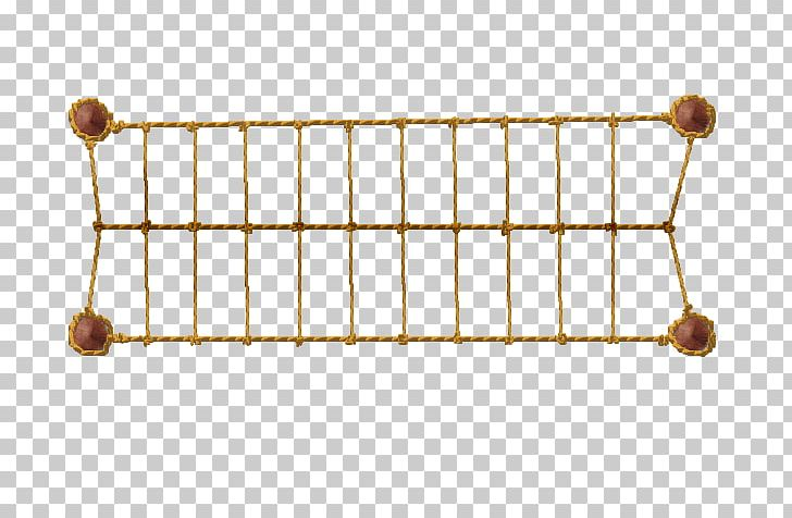 Simple Suspension Bridge Rope Material Timber Bridge PNG