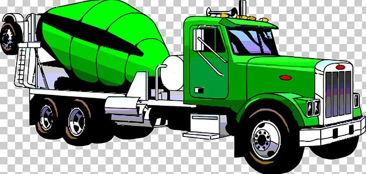 Cement Mixers Ready-mix Concrete Truck Silo PNG, Clipart