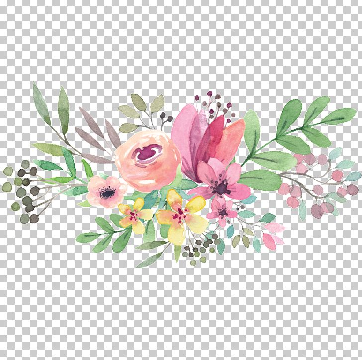 Watercolour Flowers Watercolor Painting Floral Design Drawing PNG, Clipart, Art, Blossom, Branch, Cut Flowers, Download Free PNG Download