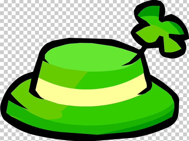 Club Penguin Ireland Shamrock Hat Saint Patricks Day PNG, Clipart, Artwork, Clothing, Clover, Club Penguin, Free Content Free PNG Download