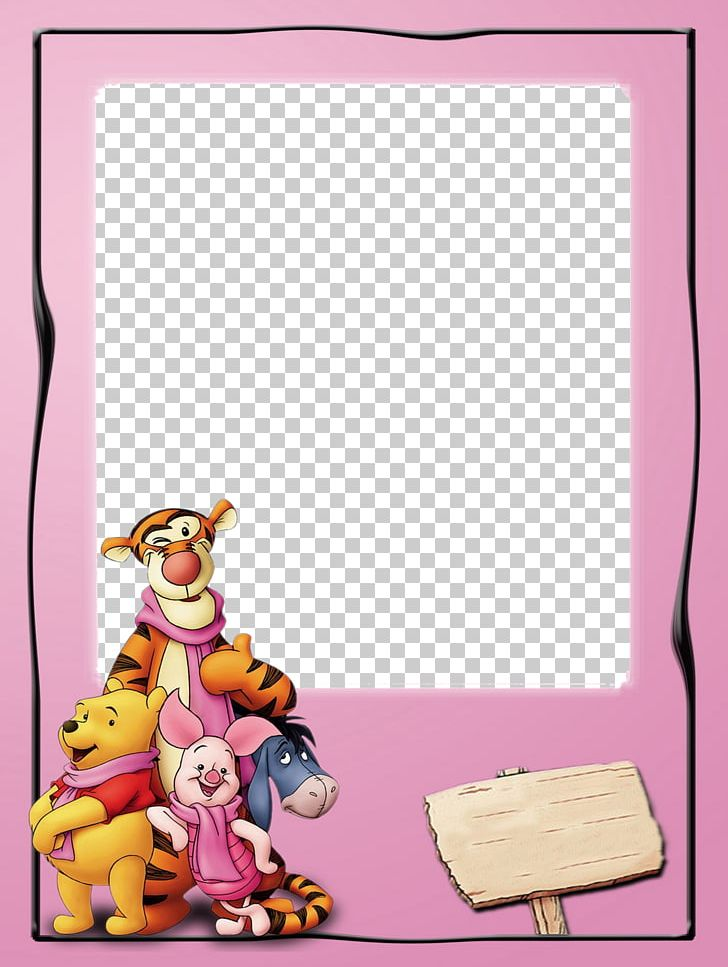 cartoon characters photo frames