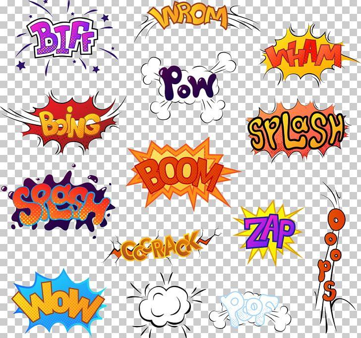 Comic Sound Comics Cartoon Illustration PNG, Clipart, Clip Art, Color Explosion, Comic Book, Design, Explosion Free PNG Download