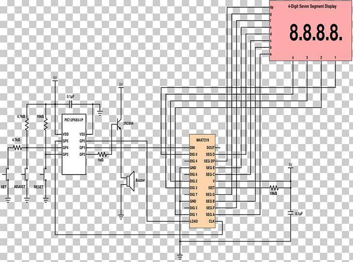 Timer Electronic Circuit Countdown Schematic Circuit Diagram