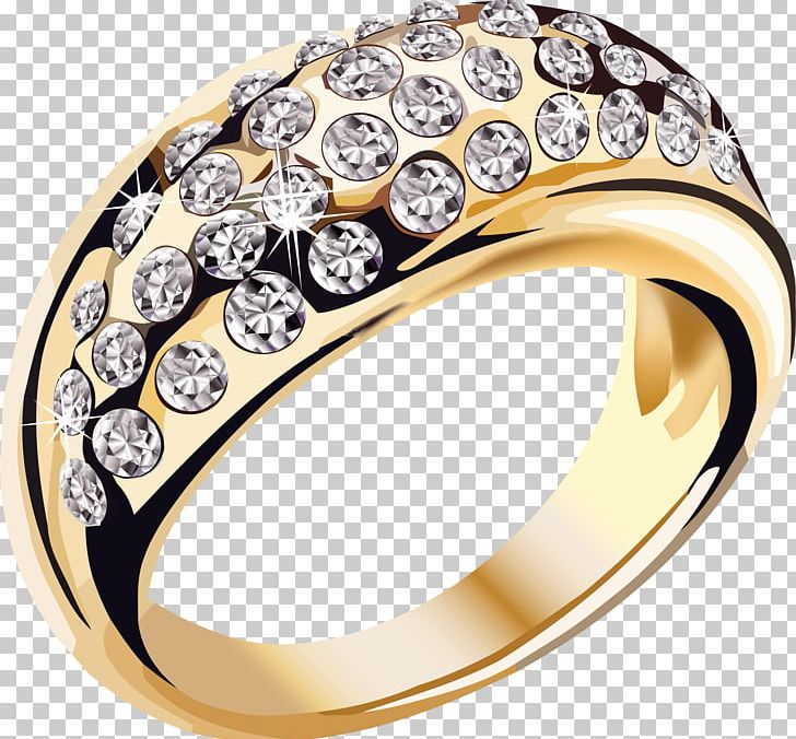 Gold Diamonds Ring Jewelry PNG, Clipart, Jewelry, Miscellaneous Free PNG Download