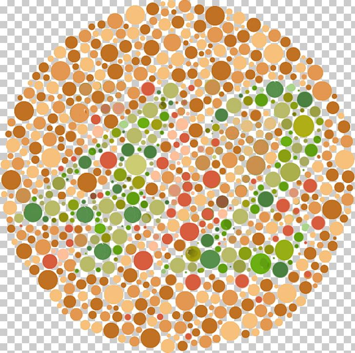 Color Blindness Ishihara Test Visual Perception Color Vision Png Clipart Area Blindness Blind Spot Child Circle