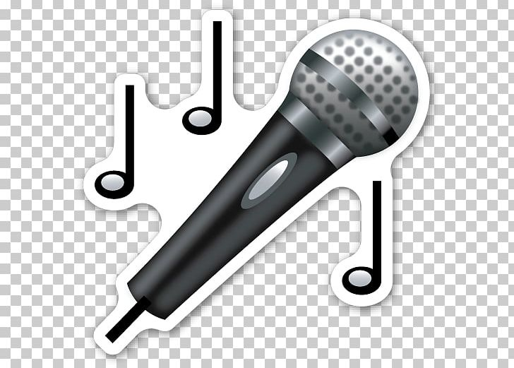 Microphone Emojipedia Sticker PNG, Clipart, Audio, Audio Equipment, Computer Icons, Electronics, Emoji Free PNG Download