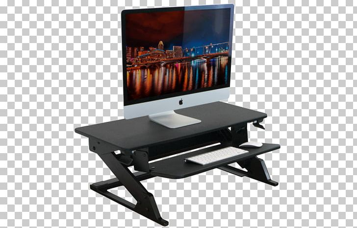 Standing Desk Sit-stand Desk IMovR PNG, Clipart, Chair, Computer, Computer Monitor Accessory, Converter, Desk Free PNG Download