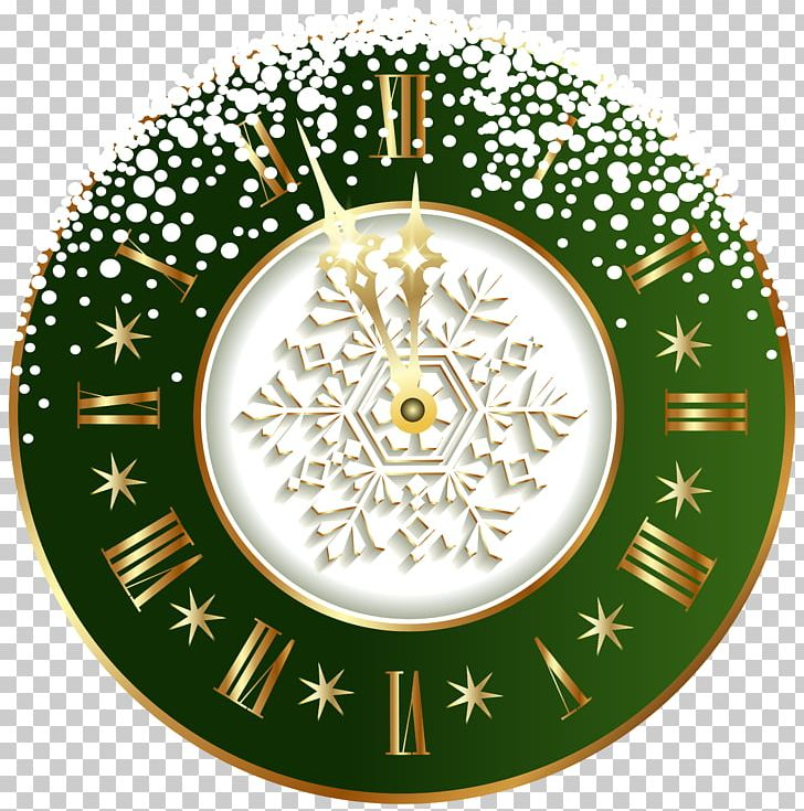 New Year's Day Clock PNG, Clipart, Christmas, Christmas Clipart, Christmas Decoration, Christmas Ornament, Circle Free PNG Download