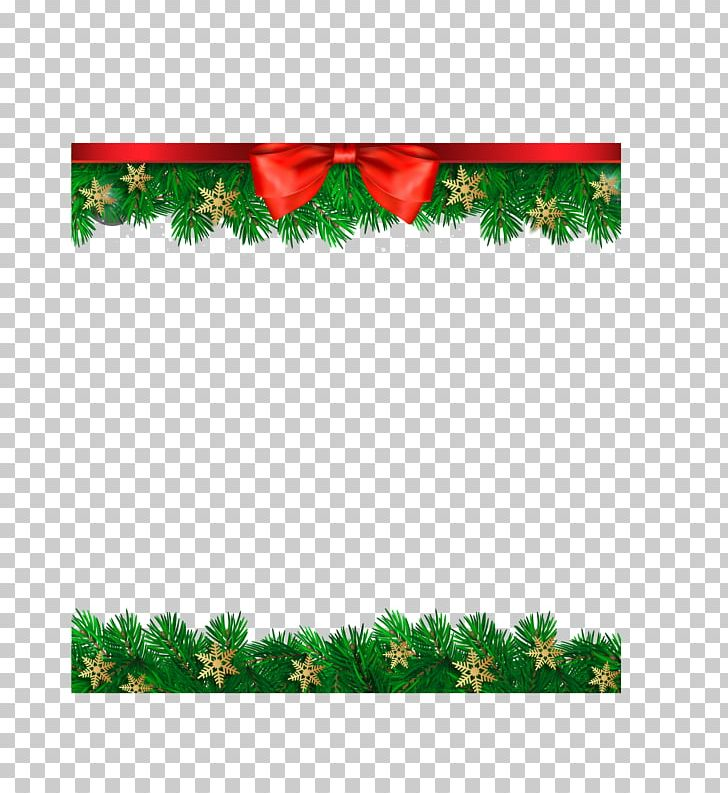 Christmas Certificate Border.Hand Painted Christmas Decoration Border Png Clipart
