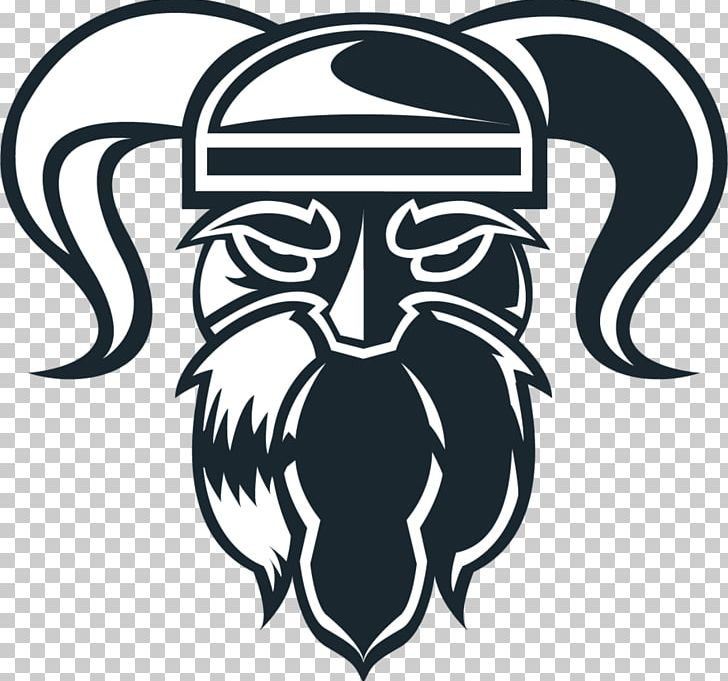 Logo Viking Graphic Design PNG, Clipart, Art, Black And White, Concept, Drawing, Einherjer Free PNG Download