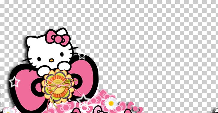 Background Hello Kitty Pink Png