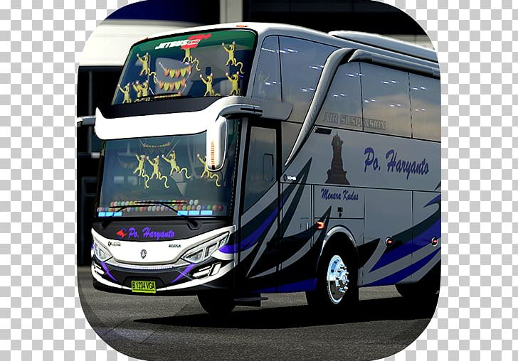 Livery BUSSID Bus Simulator Indonesia Livery Strobo SHD Tour Bus