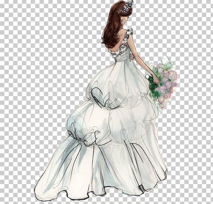 Wedding Invitation Bride Wedding Dress Png Clipart Bridal Party Dress Brides Fashion Fashion Design Fashion Illustration