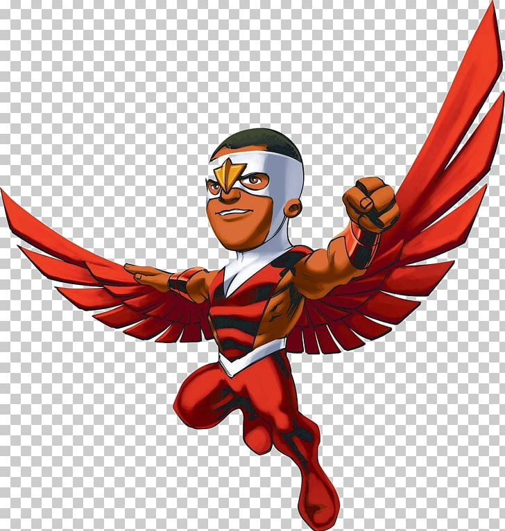 Marvel Super Hero Squad Falcon Iron Man Wolverine