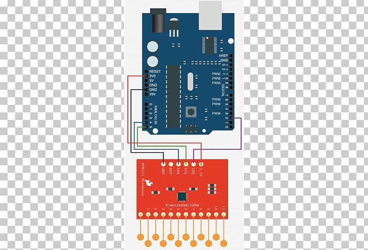 Arduino Electronic Circuit ESP8266 Shift Register Stepper Motor PNG