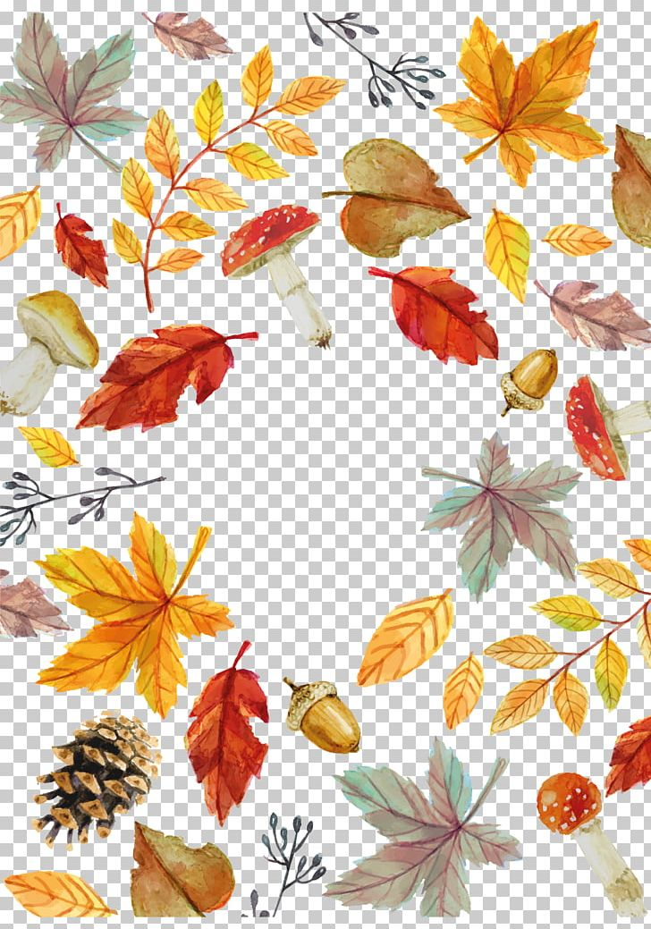 Autumn Leaf Euclidean PNG, Clipart, Autumn, Birthday Card, Branch, Business Card, Deciduous Free PNG Download