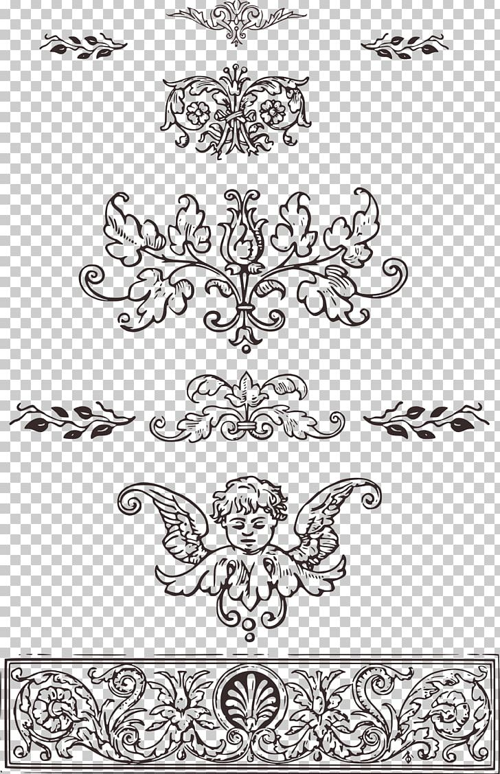 Ornament Decorative Arts PNG, Clipart, Area, Art, Black, Black And White, Calligraphy Free PNG Download
