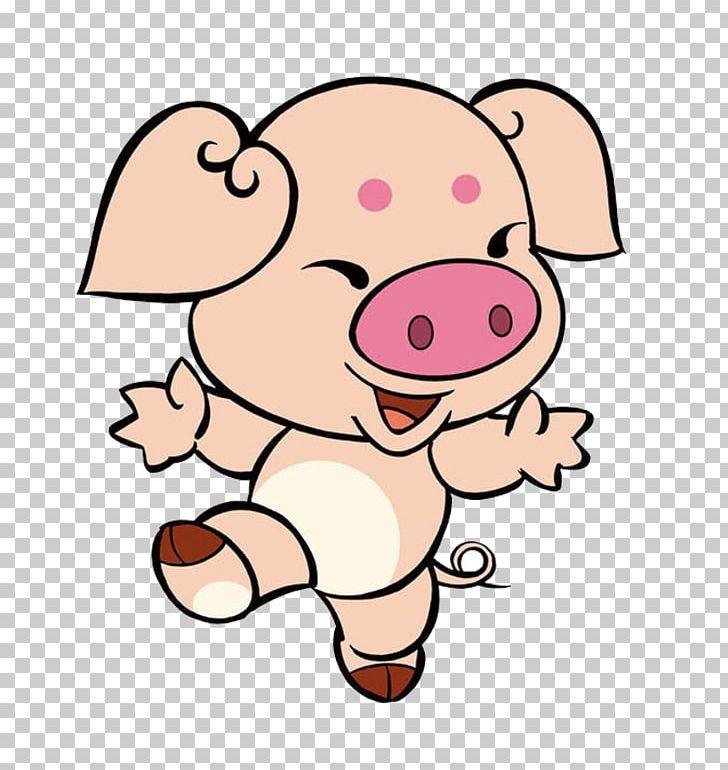 Domestic Pig Cochon De Bois Zi Wei Dou Shu Quxfd Hu1ee3i Png Clipart Animal Animals Area