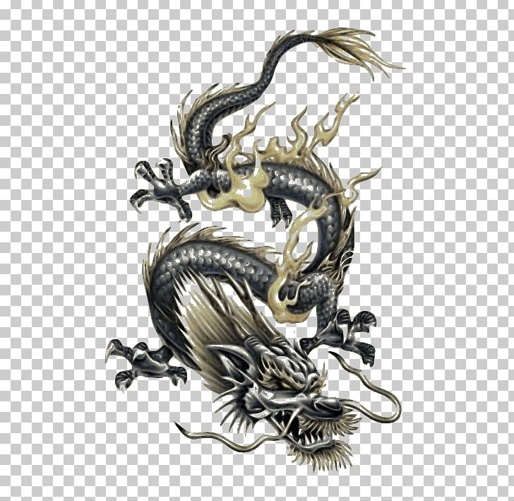 Tattoo Japanese Dragon Chinese Dragon PNG, Clipart, Art