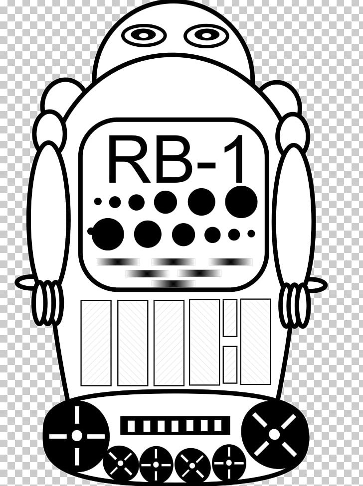 Robotics PNG, Clipart, Artwork, Black, Black And White, Coloring Page, Colour Free PNG Download