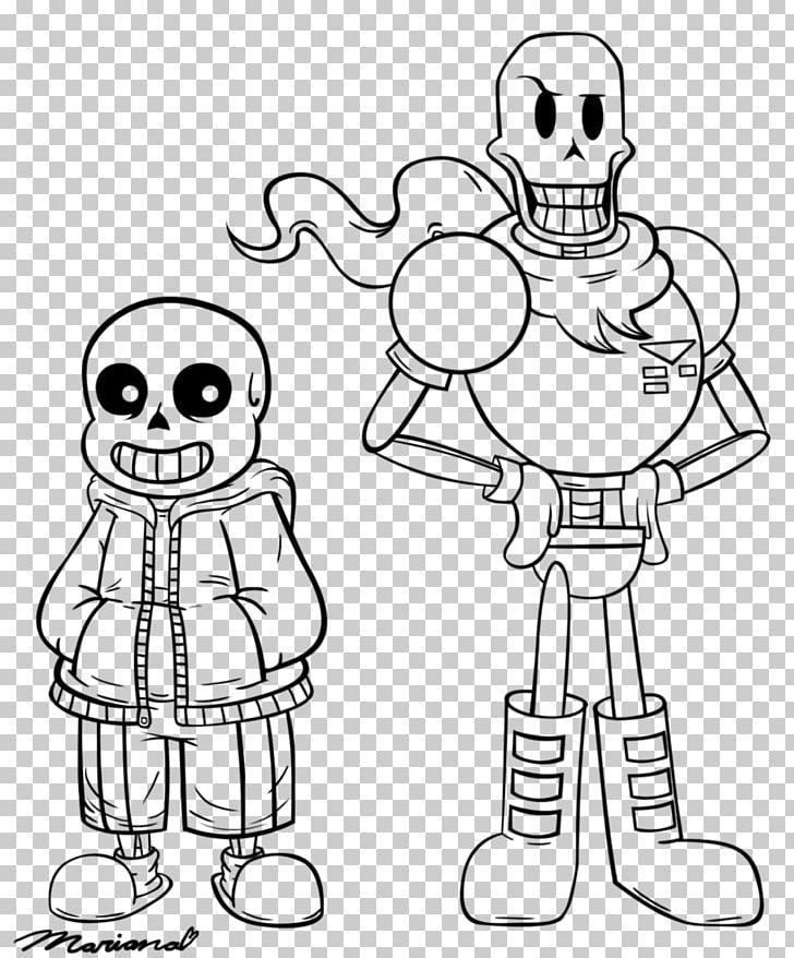 Coloring Book Undertale Line Art Drawing Character Png Clipart Arm