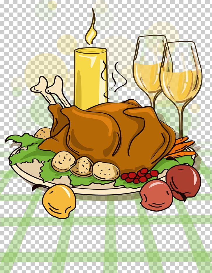 Turkey Pilgrim Thanksgiving Dinner Cartoon PNG, Clipart, Animals, Candlelight, Candlelight, Chicken Vector, Chicken Wings Free PNG Download