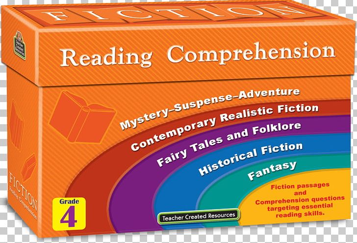 Reading Comprehension Fiction Understanding Learning PNG, Clipart, Book, Brand, Fiction, First Grade, Fourth Grade Free PNG Download