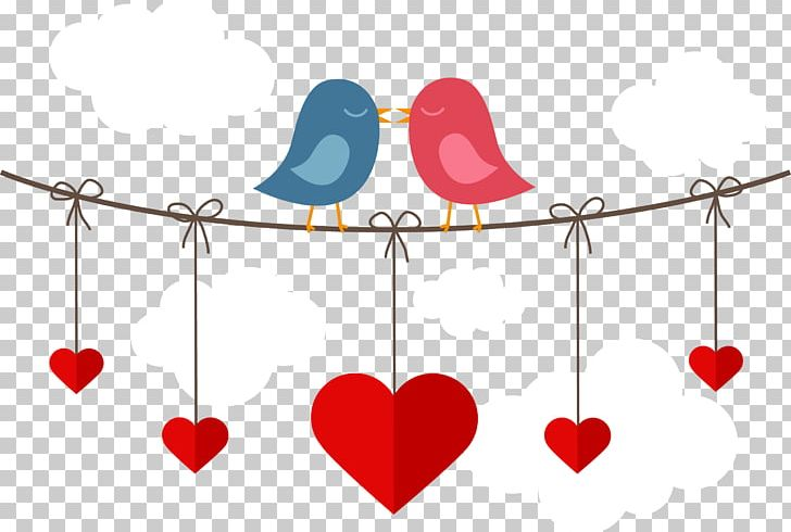 Valentines Day Heart PNG, Clipart, Adobe Illustrator, Animals, Bird, Bird Cage, Creative Wedding Free PNG Download