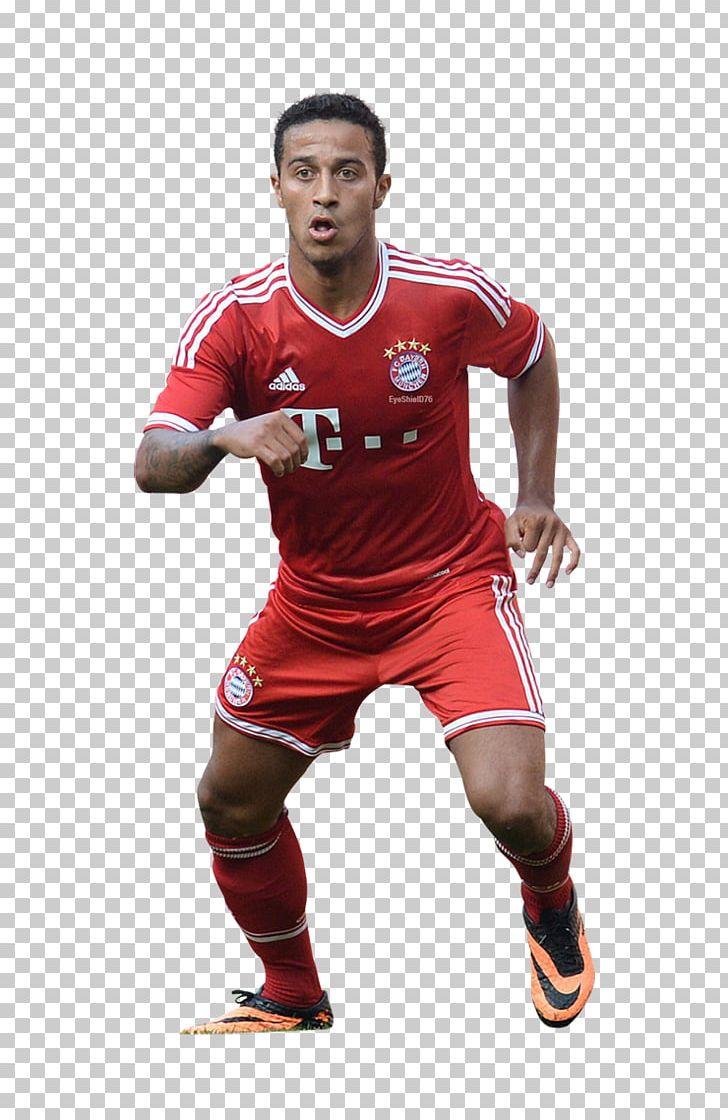 best cheap 62660 1e6e6 Thiago Alcántara Jersey FC Bayern Munich Spain National ...