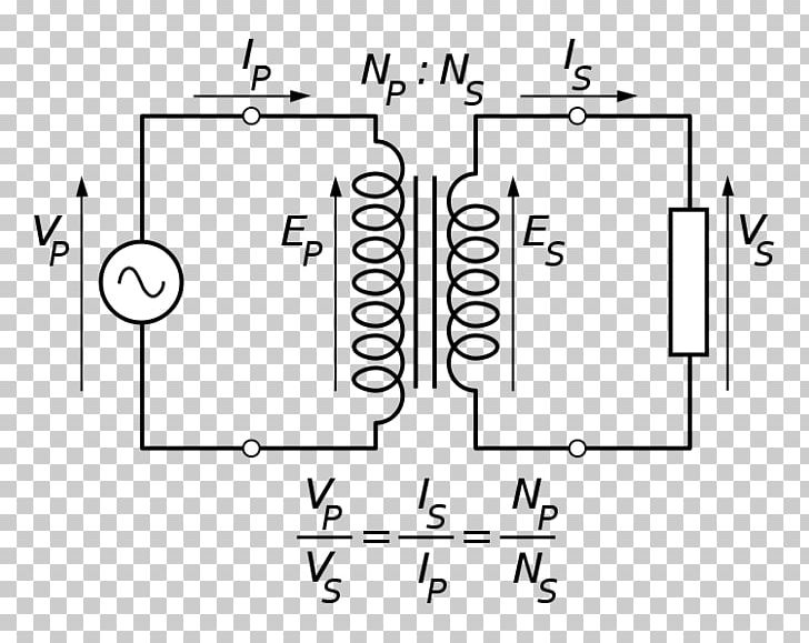 Transformer Equivalent Circuit Electrical Network Electronic