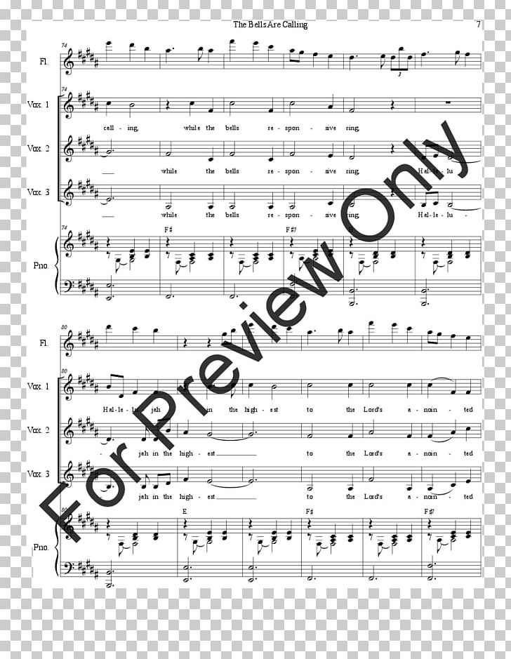 Sheet Music J W  Pepper & Son Moanin' Jazz PNG, Clipart