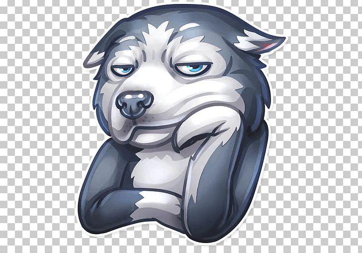 Siberian Husky Telegram Pug Dachshund Sticker Png Clipart