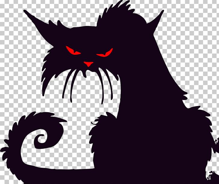 Halloween Silhouette Cat PNG, Clipart, Animals, Carnivoran, Cat Ear, Cat Like Mammal, Computer Wallpaper Free PNG Download