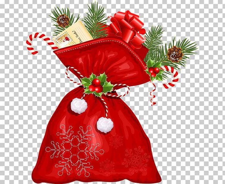 Santa Claus Christmas Gift PNG, Clipart, Bag, Christmas, Christmas Decoration, Christmas Elf, Christmas Gift Free PNG Download