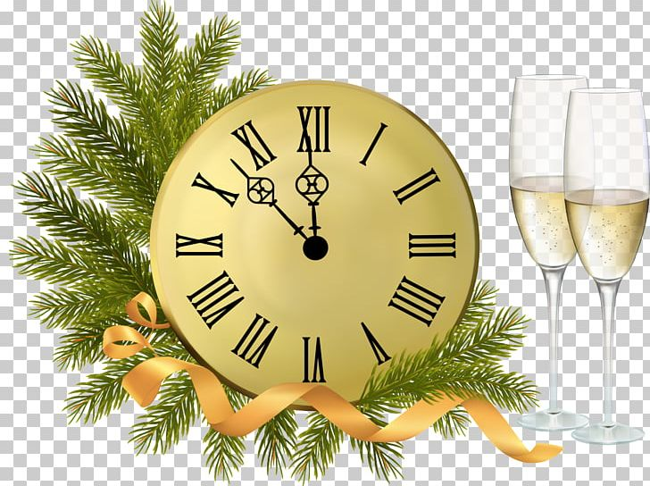 New Year's Day Christmas New Year's Eve PNG, Clipart, Christmas, Christmas Ornament, Christmas Tree, Clock, Clocks Free PNG Download