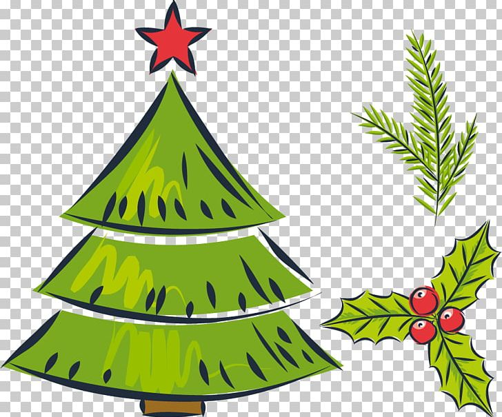 Christmas Tree Drawing Gift Png Clipart Christmas Card