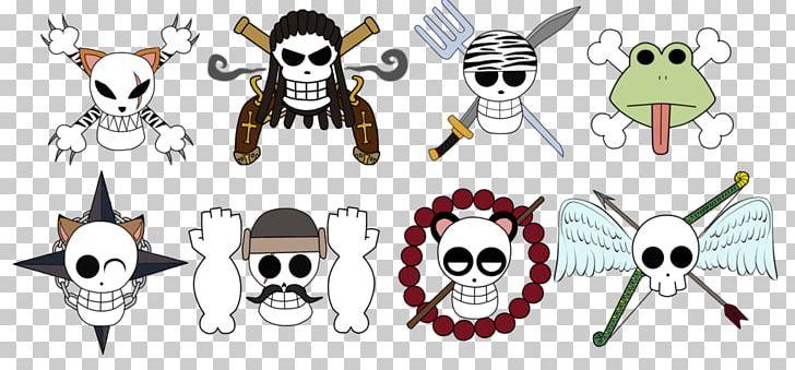Jolly Roger Borsalino One Piece Skull Png Clipart Artwork