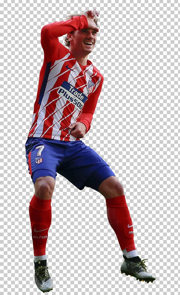Antoine Griezmann Atlético Madrid Jersey Football Goal Png