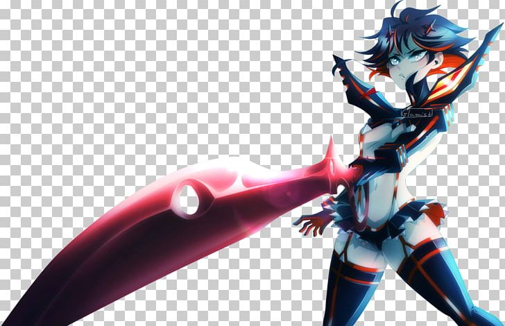 Ryuko Matoi Anime Senketsu Fan Art Png Clipart Action