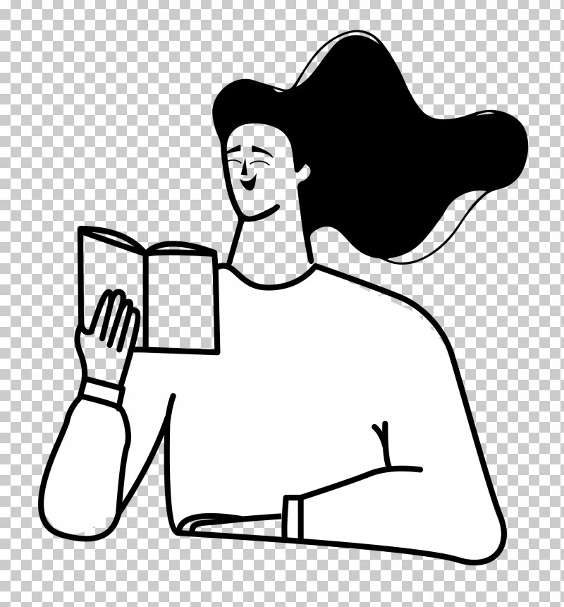 Reading Book PNG, Clipart, Character, Digital Marketing, Head, Human Body, Line Art Free PNG Download