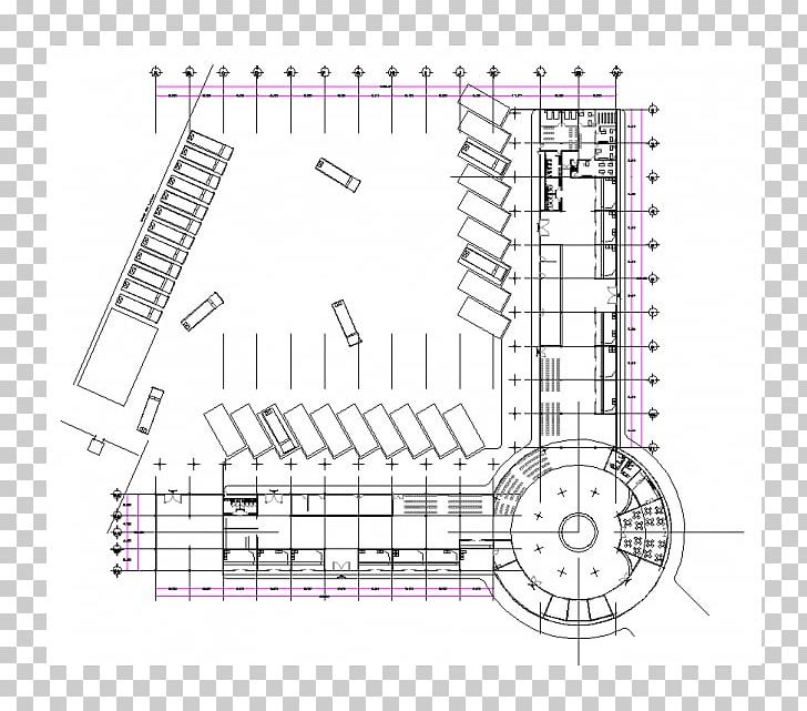 Bus Interchange Drawing Dwg Bus Terminus Png Clipart Angle Architecture Area Artwork Autocad Free Png Download