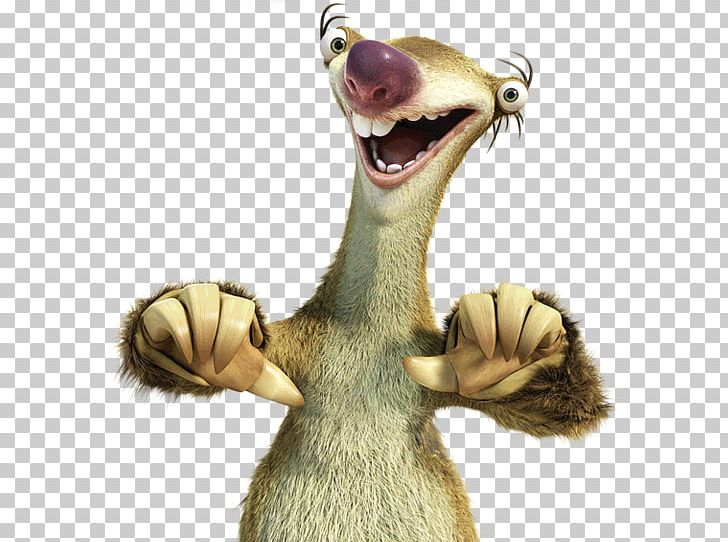 Sid Sloth Scrat YouTube Ice Age PNG, Clipart, Blue Sky ...