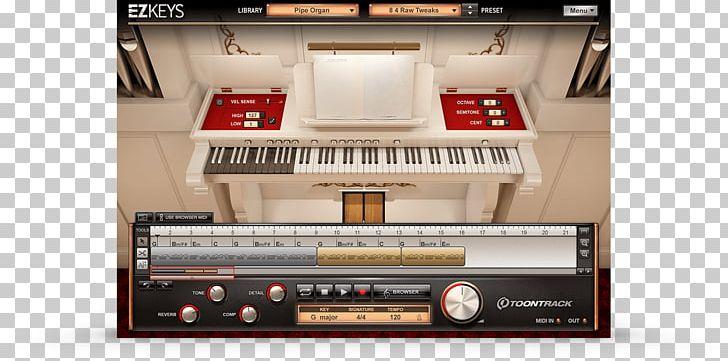 Pipe Organ Keyboard Piano Software Synthesizer PNG, Clipart, Digital
