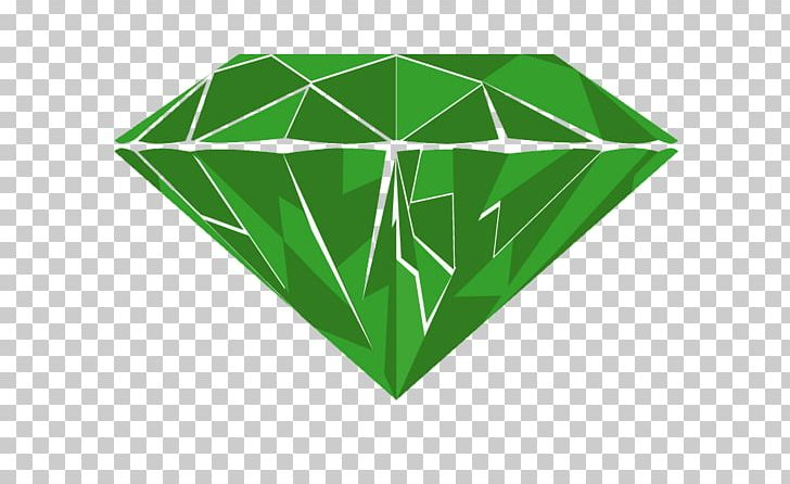 Green Diamond Logo Emerald PNG, Clipart, Angle, Background Green, Cartoon, Color, Crystal Free PNG Download
