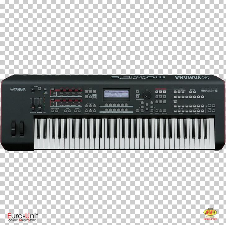 Yamaha MOXF6 Sound Synthesizers Music Workstation Yamaha Corporation