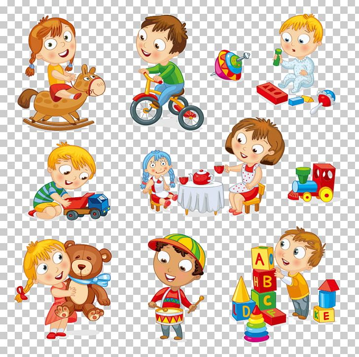 Child Toy Play Cartoon PNG, Clipart, Art, Cartoon Characters, Char, Fictional Character, Game Free PNG Download