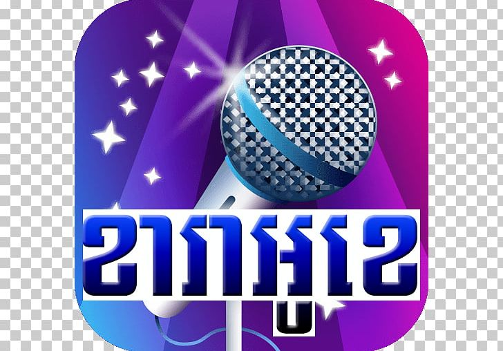 Sing! Karaoke Song Music PNG, Clipart, Android, Brand, Cobalt Blue