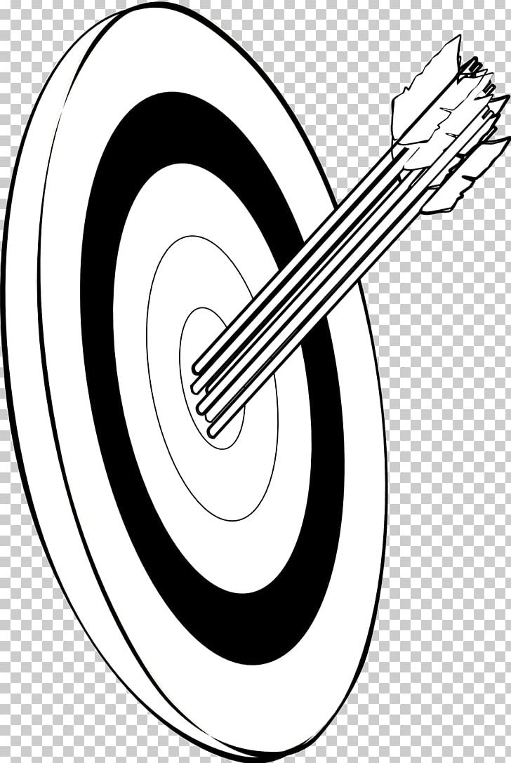 Black And White Shooting Target Archery Arrow PNG, Clipart, Adult, Angle, Archery, Arrow, Artwork Free PNG Download